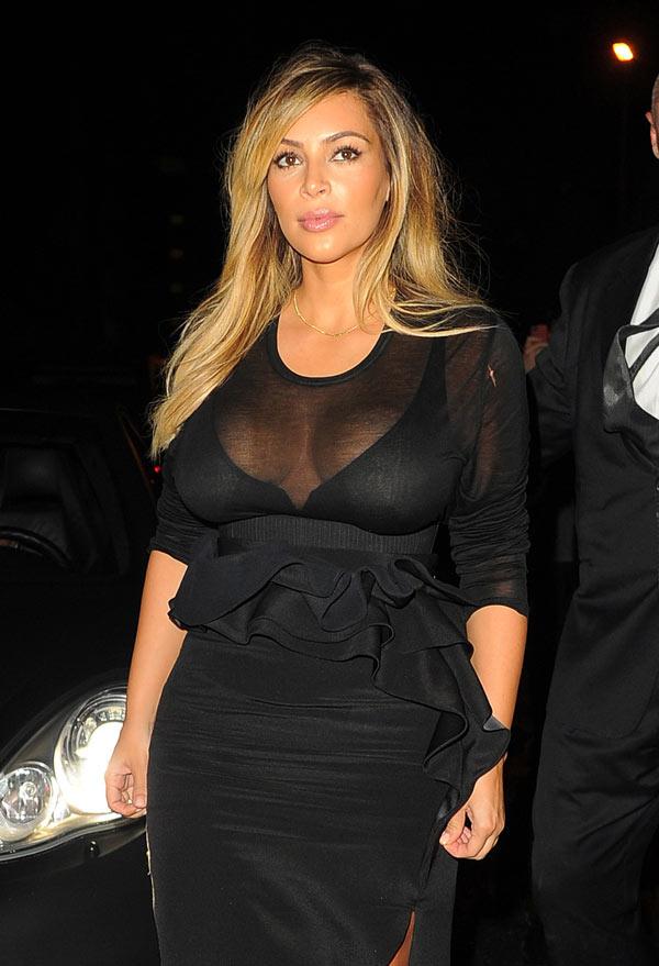 Kim Kardashian Birthday Pics