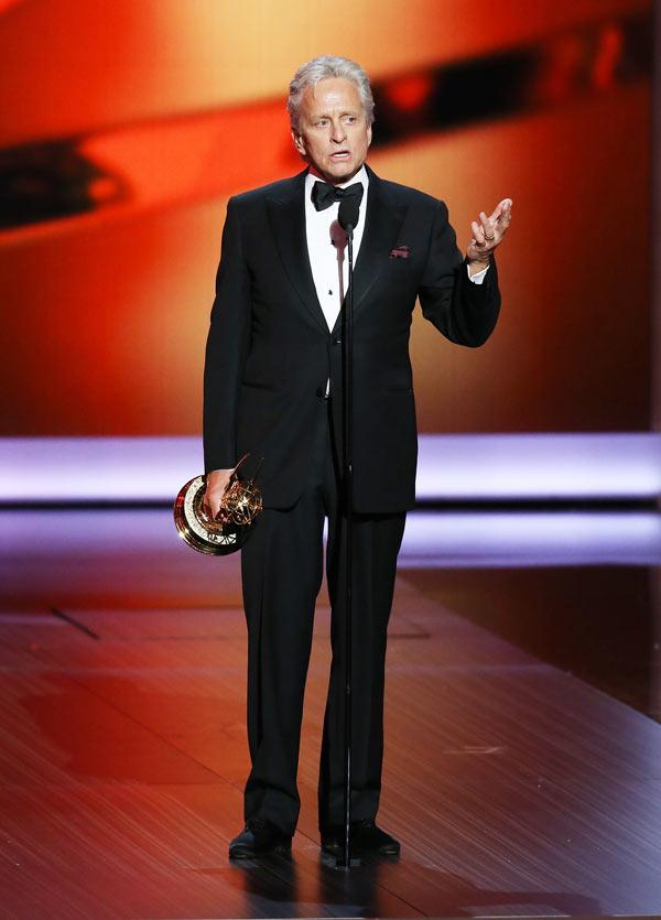 Michael Douglas Emmys Speech