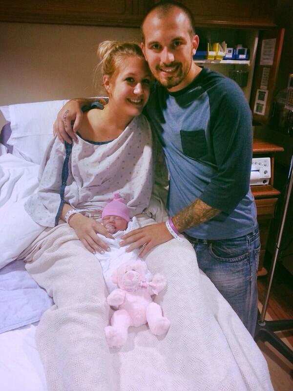 Taylor Halbur Baby Born