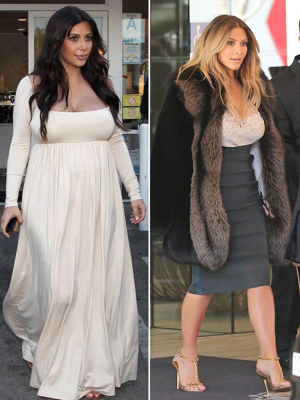 Kim Kardashian Diet After Baby