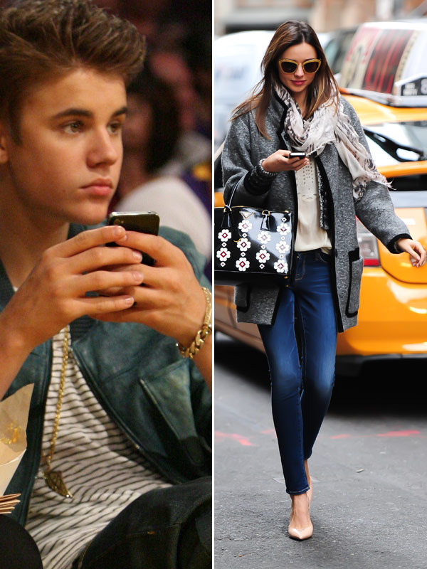 Miranda Kerr Justin Bieber Dirty Texts