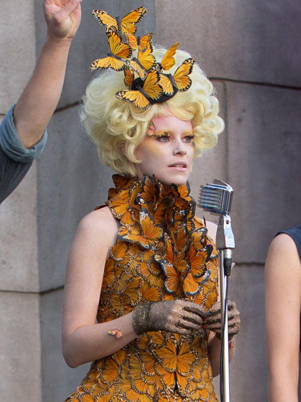 Elizabeth Banks Makeup Hunger Games