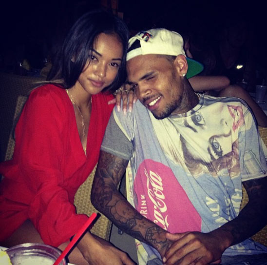 Karrueche Tran Visiting Chris Brown Rehab