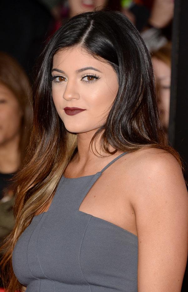 Kylie Jenner Catching Fire Lipstick
