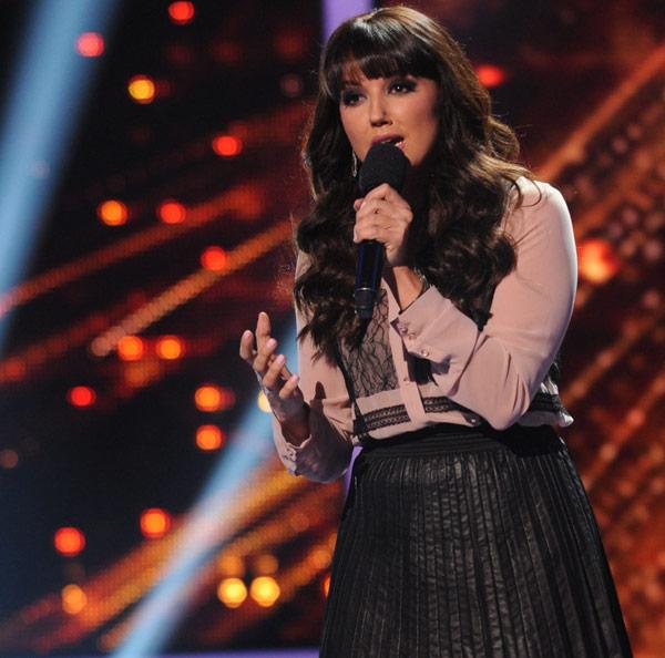 X Factor Sharon reveals final over-25s