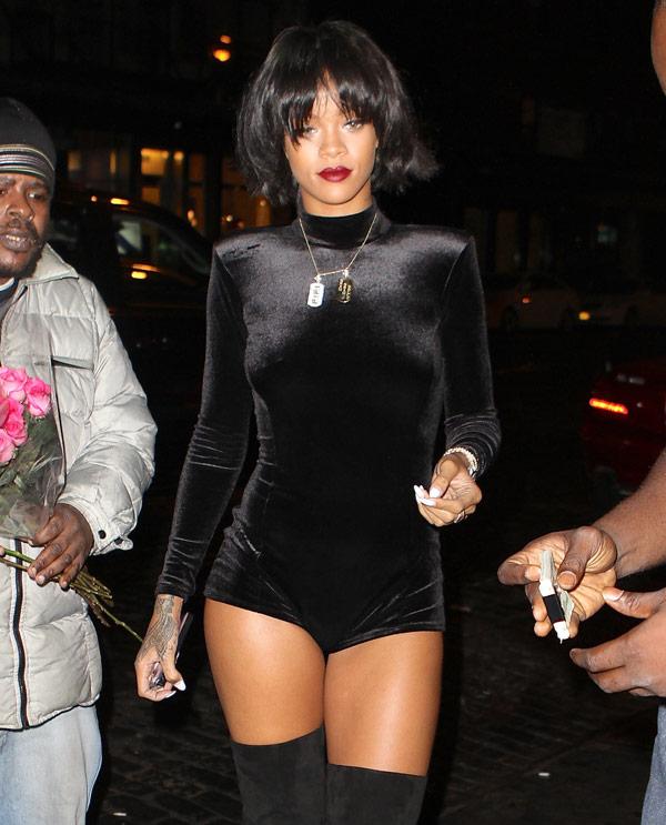 Rihanna Drake Zoe Kravitz Side