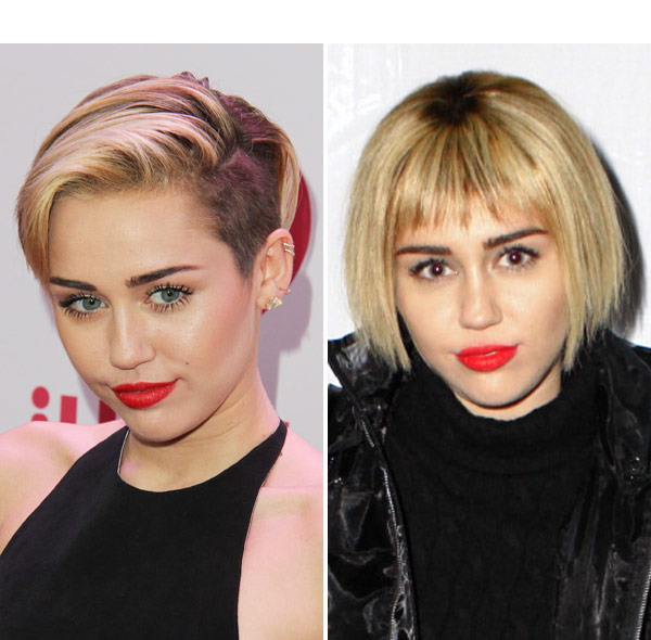 Pic Miley Cyrus Bob Haircut Singer Ditches Edgy Style For Classy Look Hollywood Life