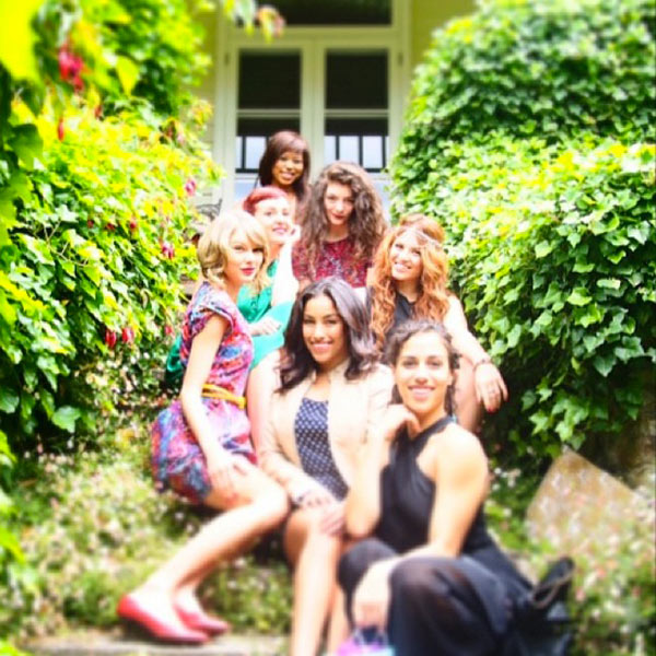 Lorde Taylor Swift Birthday Party