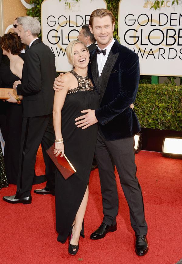 Chris Hemsworth Twins