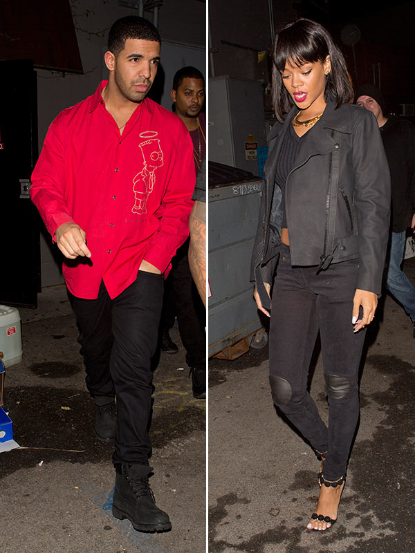 Drake Rihanna Couple