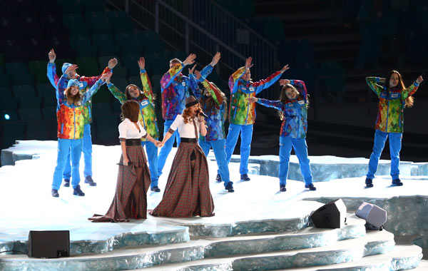 Tatu Olympic Opening Ceremony