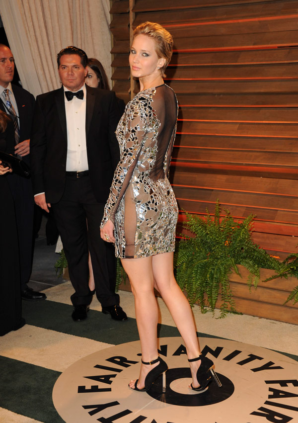 Jennifer Lawrence At Oscars After Party — See Her ...