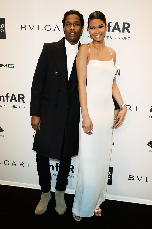 Chanel Iman & ASAP Rocky Engaged — Star-Studded Couple