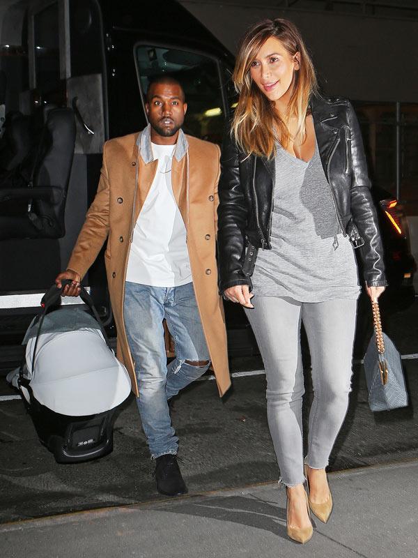 Kim Kardashian Pregnant Kimye Honeymoon