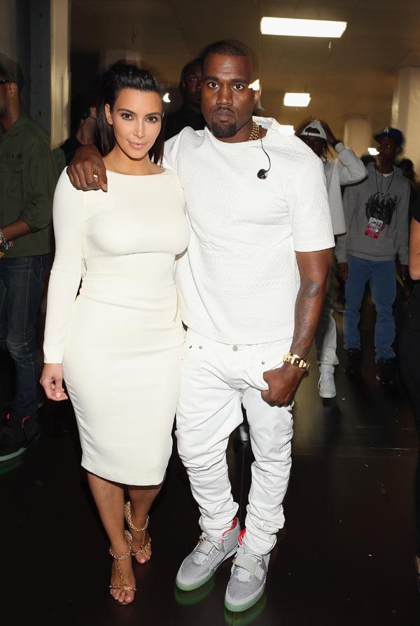 Kanye West And Kim Kardashian Married