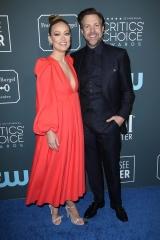 Olivia Wilde and Jason Sudeikis 25th Annual Critics' Choice Awards, Arrivals, Barker Hanger, Los Angeles, USA - 12 Jan 2020