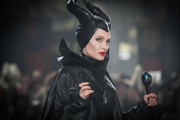 Angelina Jolie Kids Maleficent