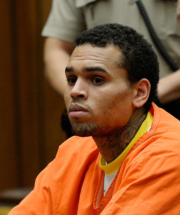 Chris Brown Jail Sentence