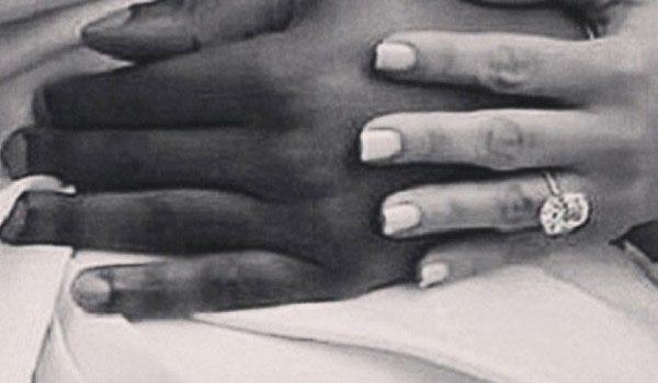 Pics Kanye West Kim Kardashian S Wedding Rings Made By Lorraine Schwartz Hollywood Life