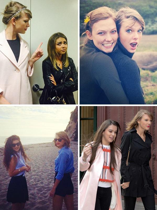 Taylor Swift Girlfriends
