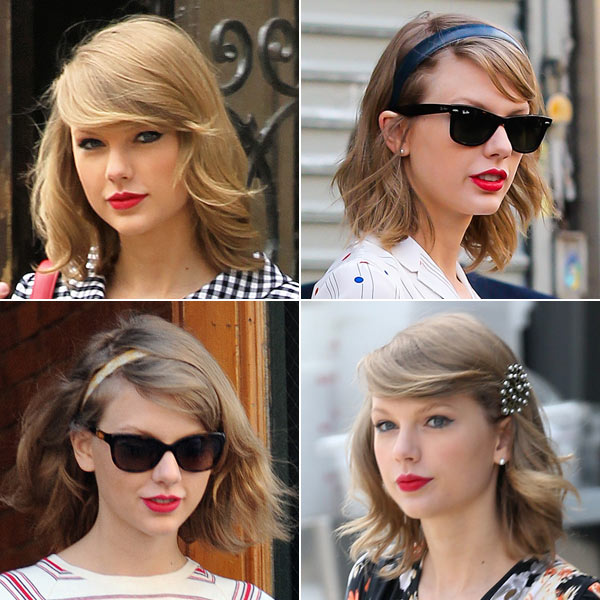 Taylor Swift S Blonde Bob How To Get Her Shiny Healthy Look Hollywood Life