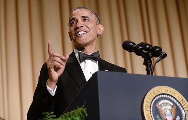 White House Correspondents Dinner Obama Speech