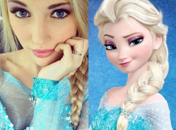 Real Life Elsa Once Upon A Time