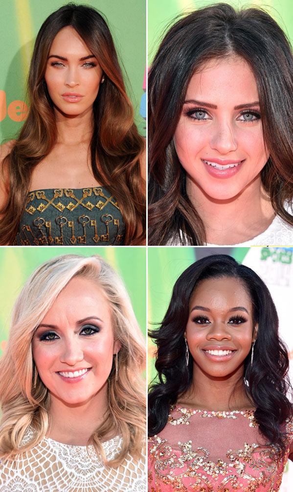 Kids Choice Sports Awards Hair Makeup