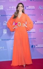 Jessica Alba TV Series Party, 59th Monte Carlo Television Festival, Monaco - 15 Jun 2019 Wearing Silvia Tcherassi