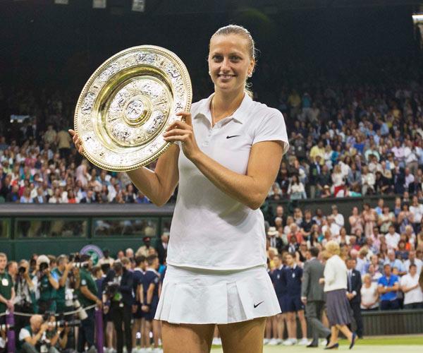 Petra Kvitova Wins Wimbledon