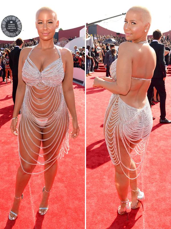 Amber Rose VMA Dress