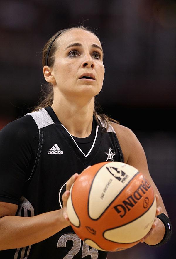 Becky Hammon Spurs