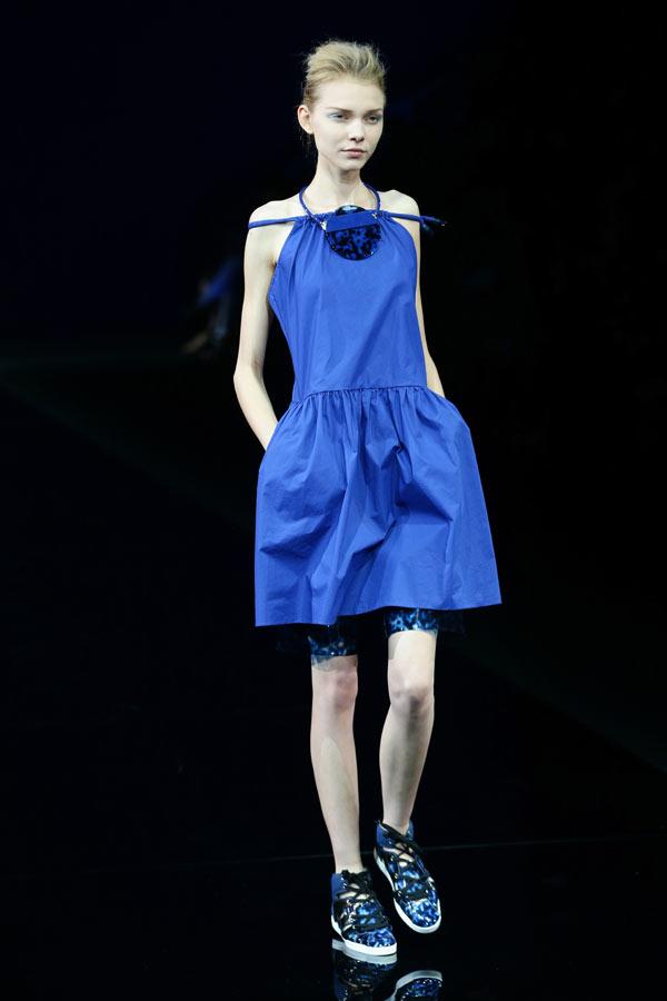 Armani Super Thin Models