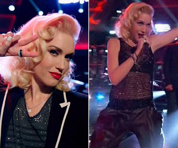 Gwen Stefani 'The Voice' Premiere Outfit