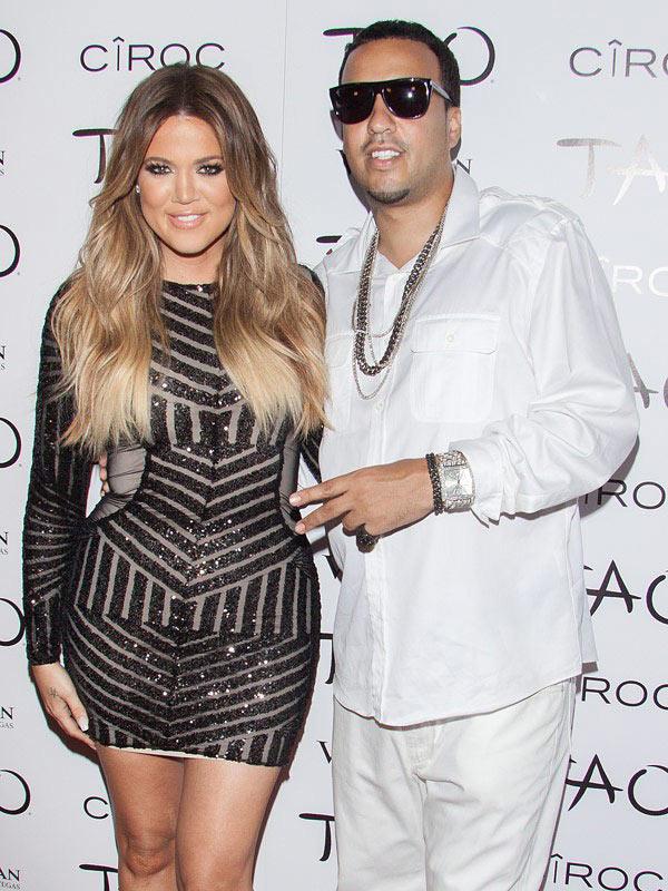 Lamar Odom Khloe Kardashian French Montana Split