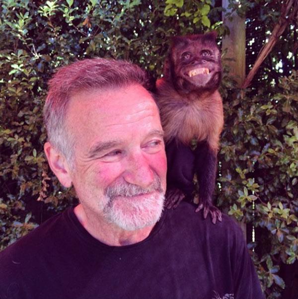Robin Williams Final Photo