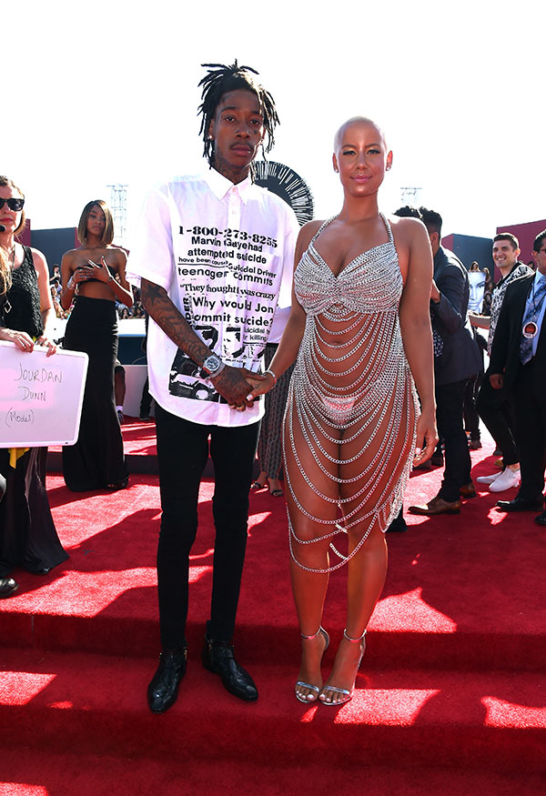 Amber Rose Wiz Khalifa Back Together