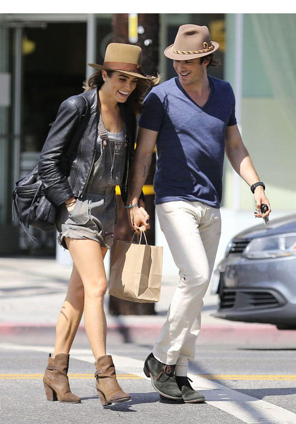 Nikki Reed Ian Somerhalder Love