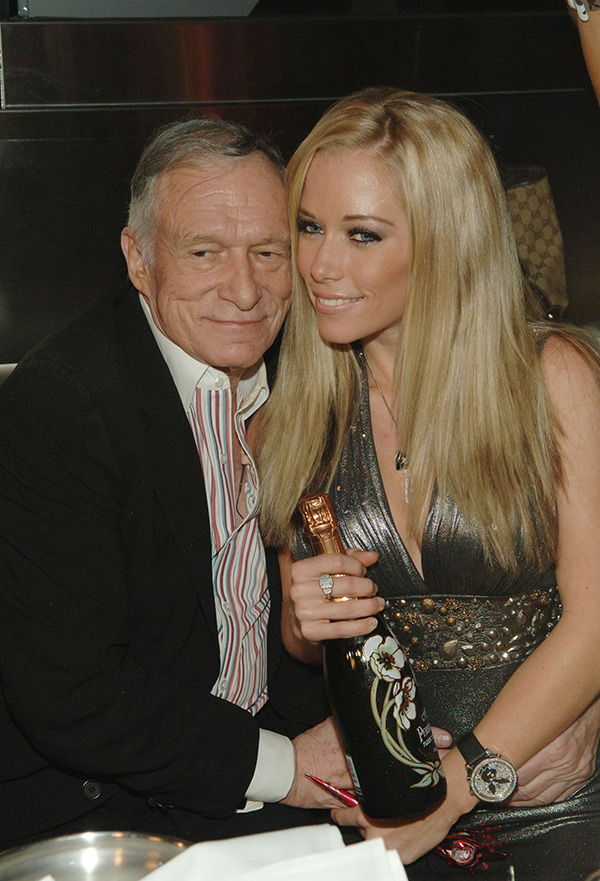 Kendra Wilkinson Disses Hugh Hefner Reason Why She Mocked Their Sex Life Hollywood Life