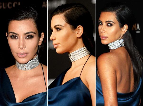 Kim Kardashian Makeup LACMA