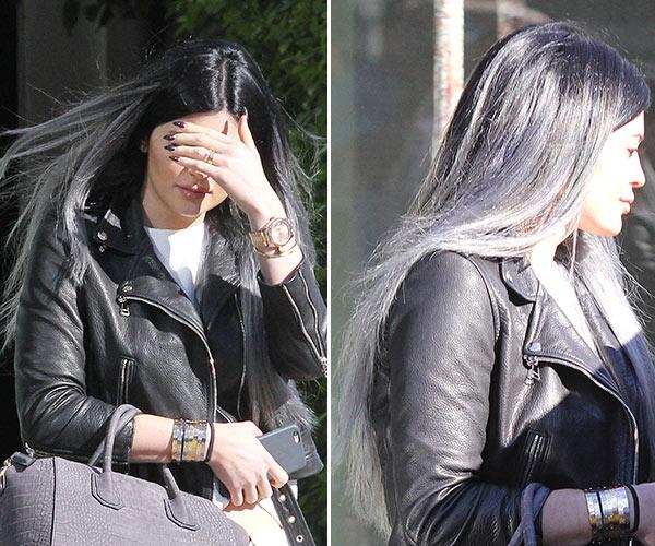 Kylie Jenner Gray Hair