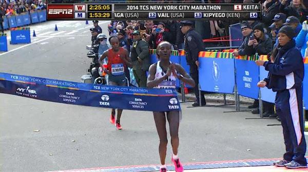 New York City Marathon Women's Winner