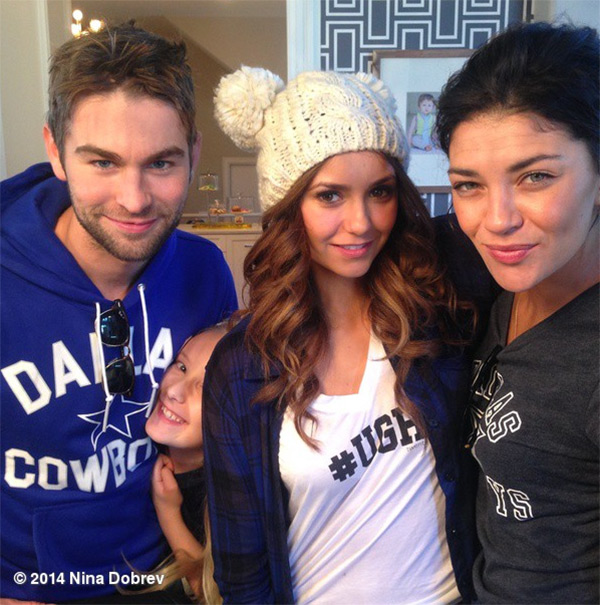 Pics Chace Crawford Nina Dobrev Dating Pair Spends Thanksgiving Together Hollywood Life