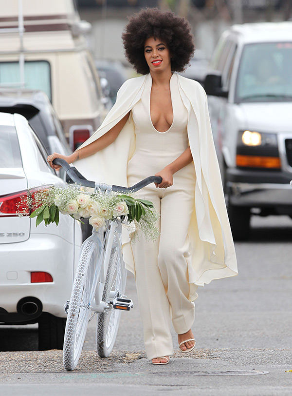 Solange Knowles Wedding Outfit