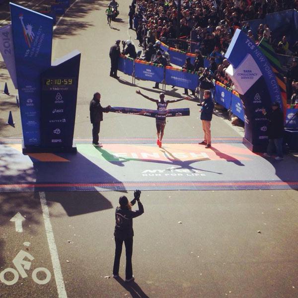 New York City Marathon Men's Winner