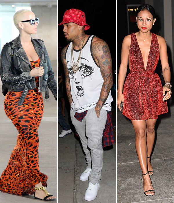 Chris Brown Dates Amber Rose