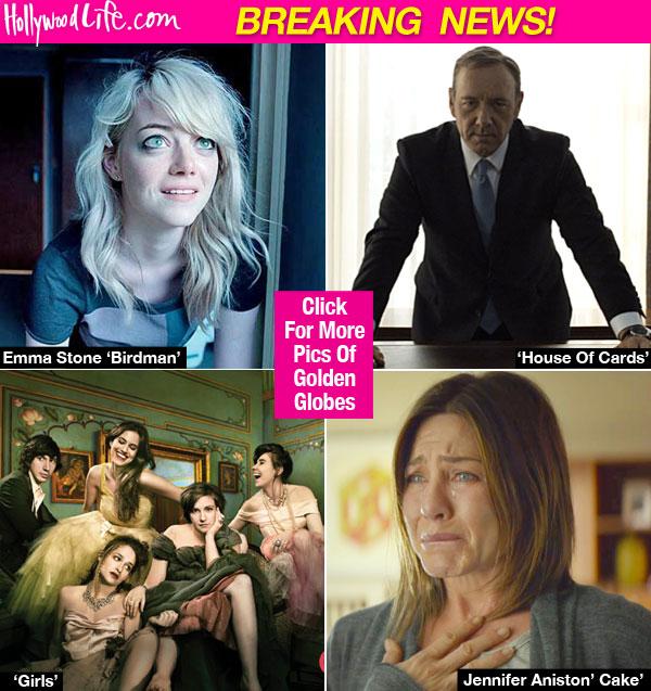 Golden Globe Nominations 2015