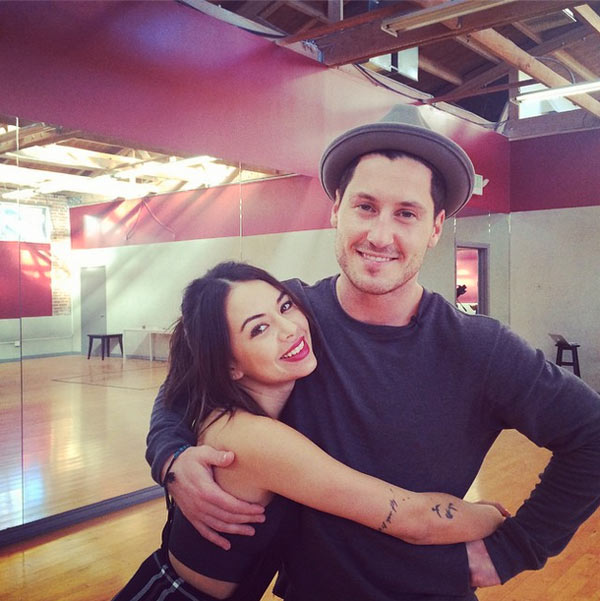 Is val dating janel on dancing with the stars