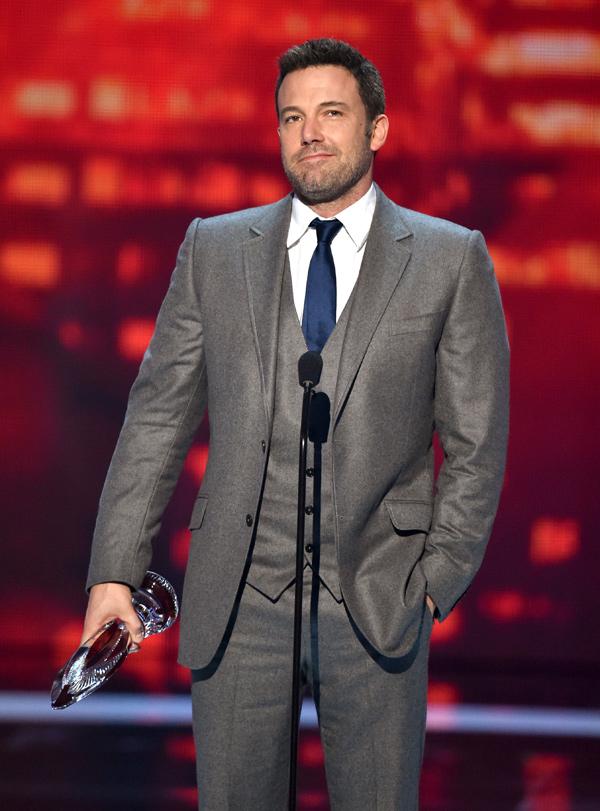 Ben Affleck People's Choice Awards