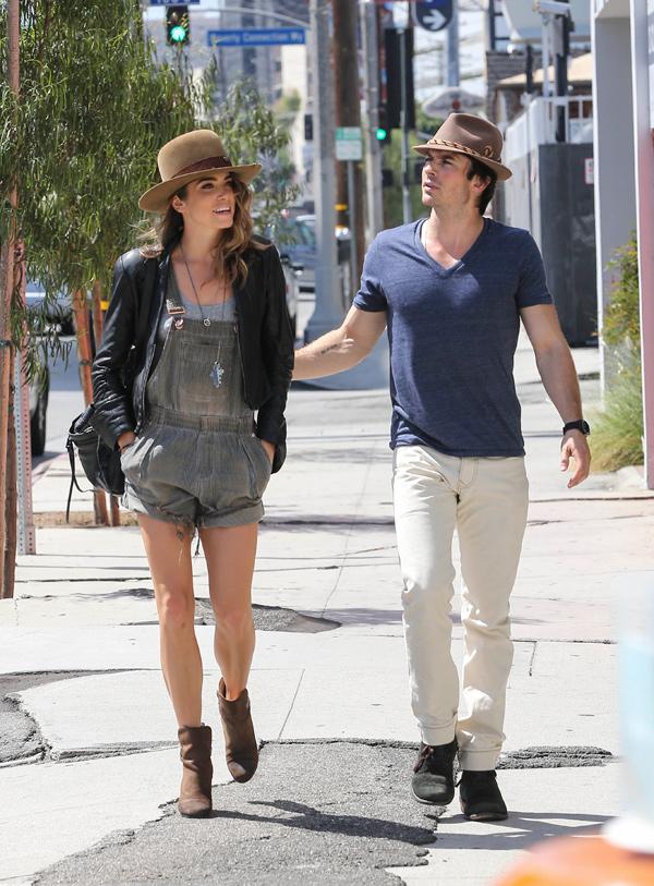 Ian Somerhalder Nikki Reed Engagement Rings